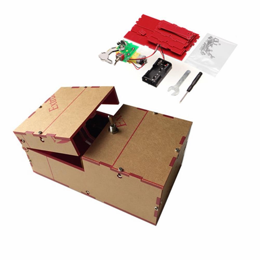 novelties Useless Box DIY Kit Useless Machine Birthday Gift Toys Geek Gadget Fun office Home Desk Decor HOB1059788