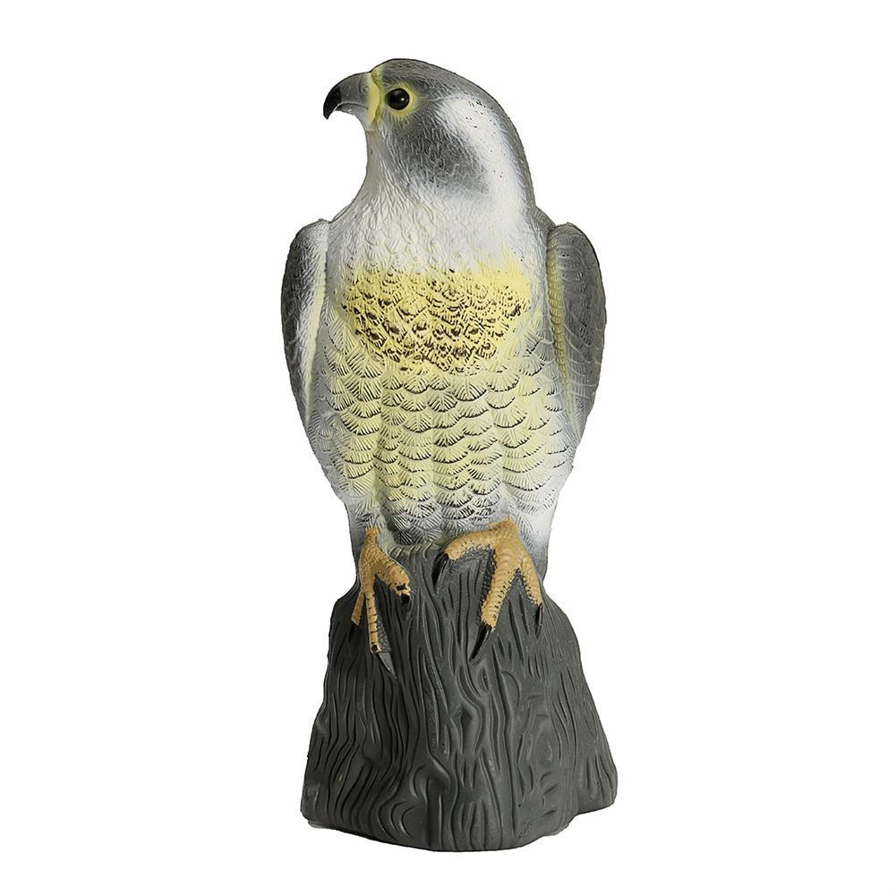 diecasts-model-toys Simulation Falcon Hawk Decoy Bird Pigeon Deterrent Scarer Repeller Garden Lawn Decor Hallowmas Decoration HOB1084916 1