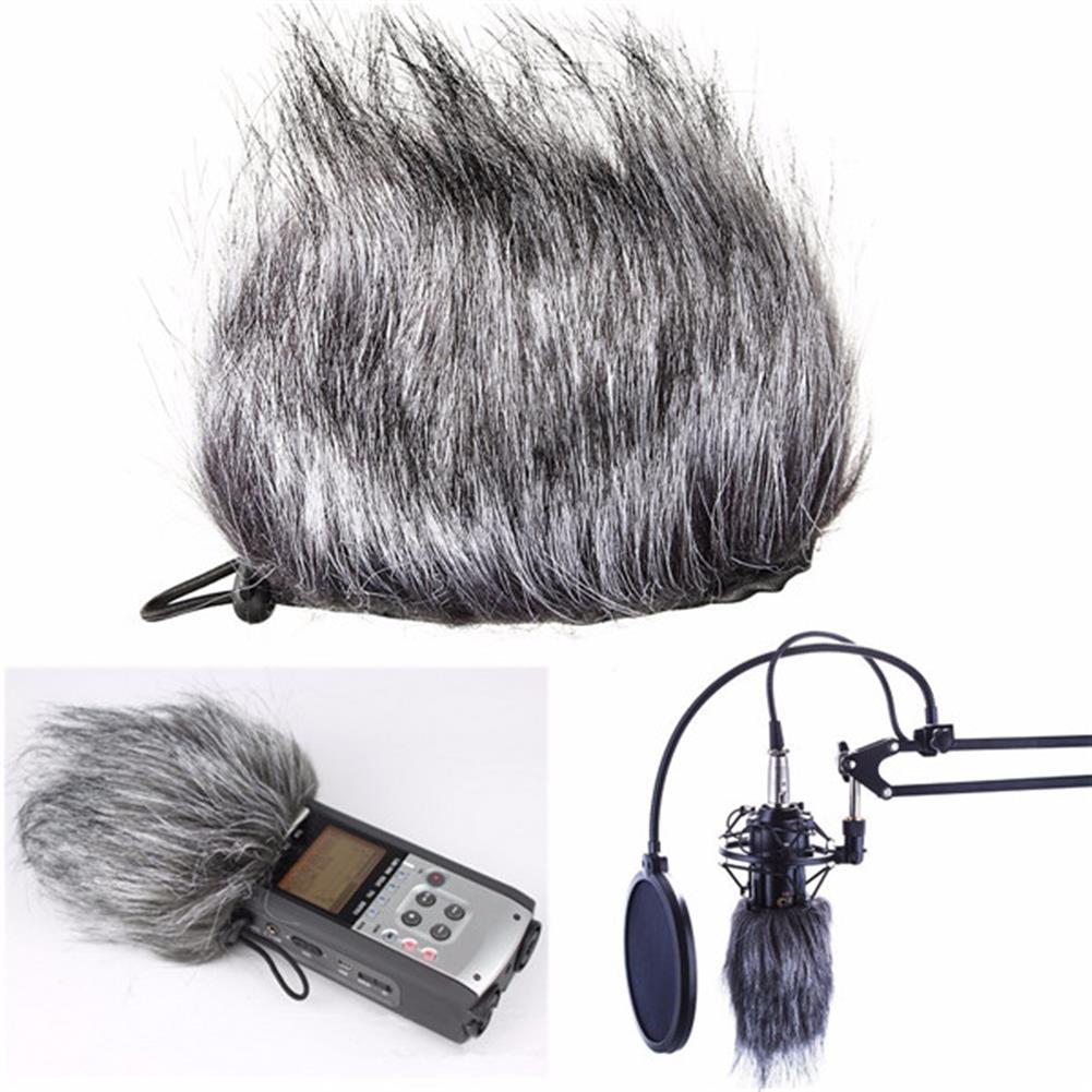 general-accessories Microphone Muffler Fur Windscreedn for Sony D50 Zoom H1 H2N H4N Q3 Q3HD Recorder HOB1096377