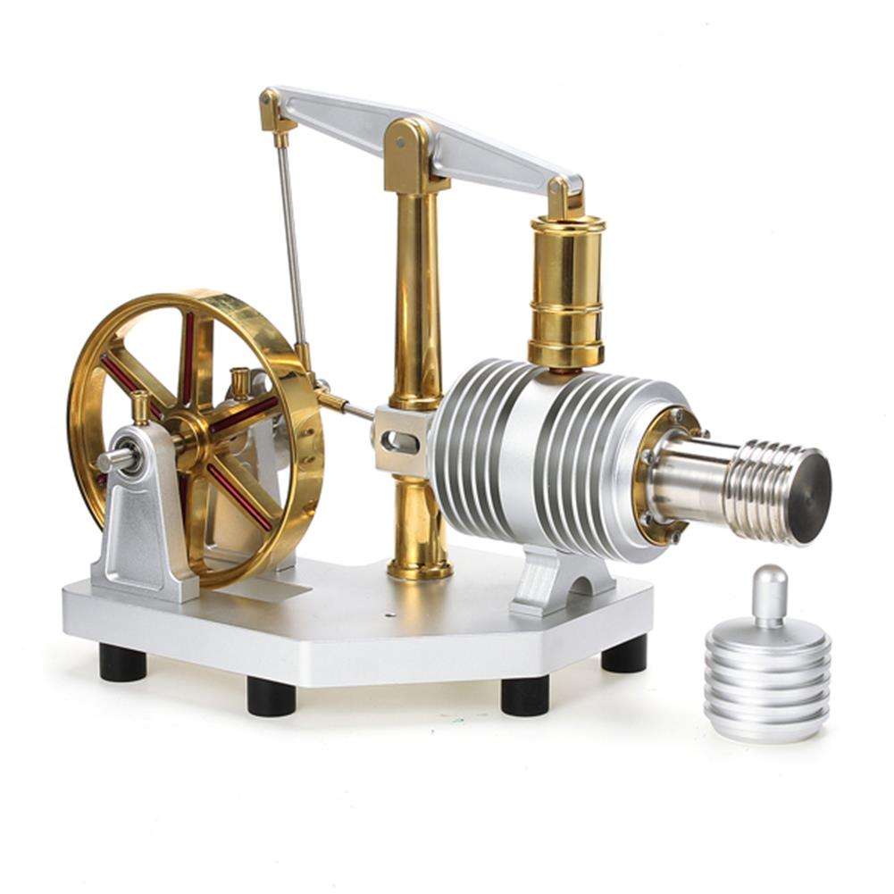 science-discovery-toys Tarot Enlarged Alloy Stirling Engine Hot Air Model Educational Science and Discovery Toys HOB1096425