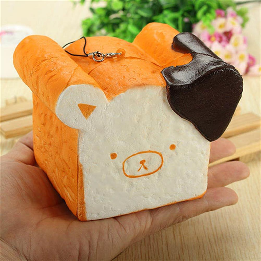 squishy-toys Squishy Toy 8 Seconds Slow Rising Super Soft Cute Fragrance Reality Touch Bear Toast Bread Decor HOB1097774