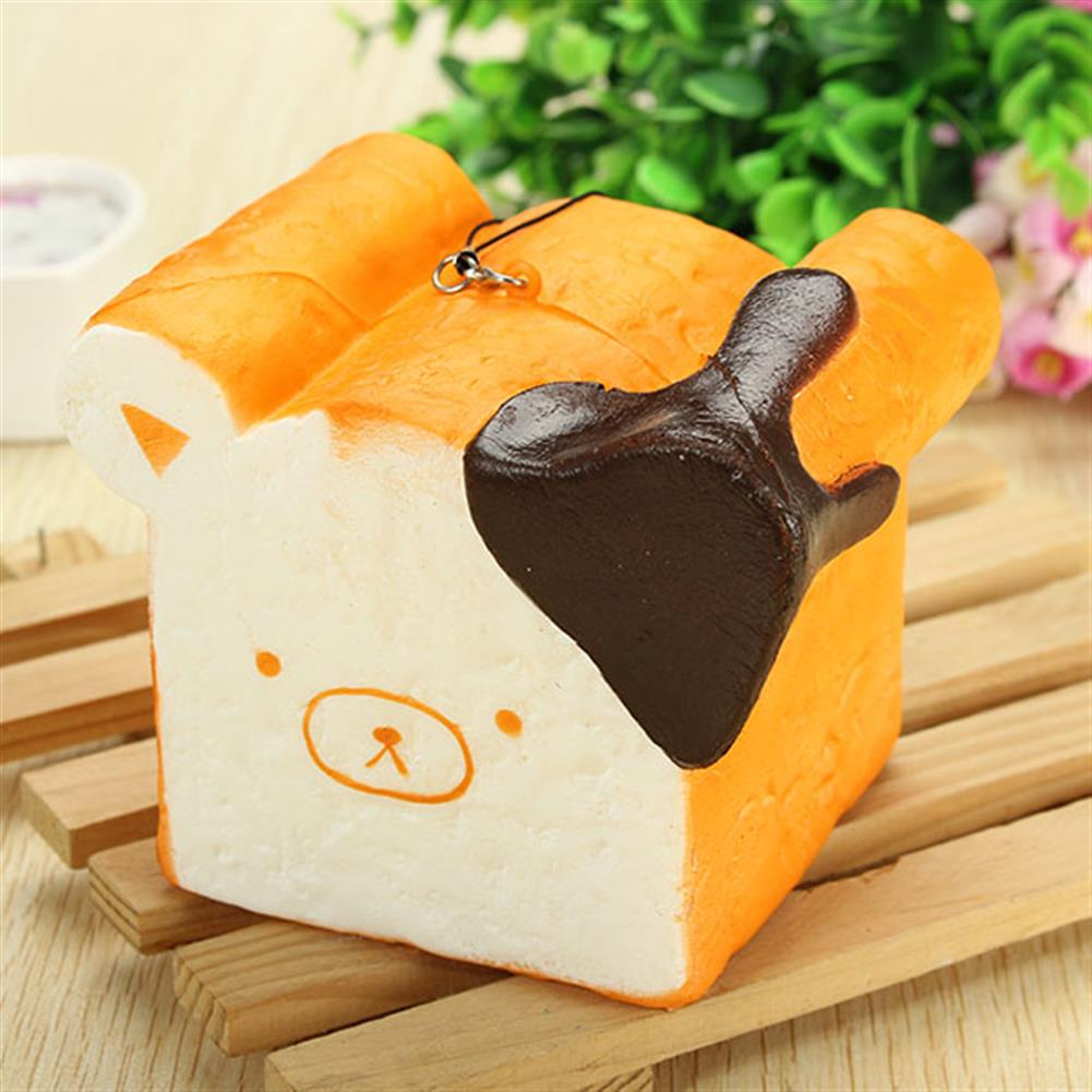 squishy-toys Squishy Toy 8 Seconds Slow Rising Super Soft Cute Fragrance Reality Touch Bear Toast Bread Decor HOB1097774 2