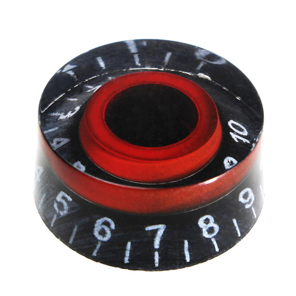 guitar-accessories Black Red Electronic Guitar Speed Dial Knobs Control Knobs for LP LES PAUL Guitar HOB1146021 2