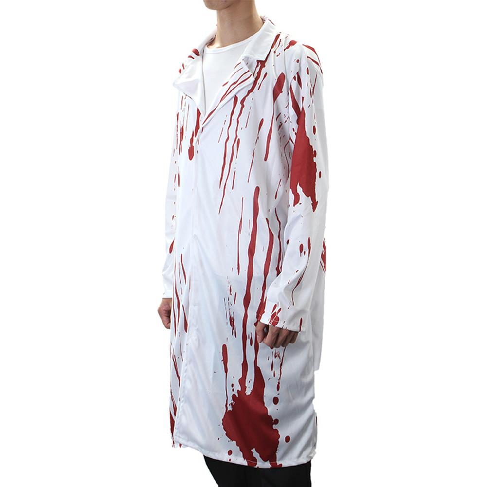 mask-costumes Halloween Costume Terror Nurse And Doctor Clothes with Blood Adult Costume HOB1162638 1
