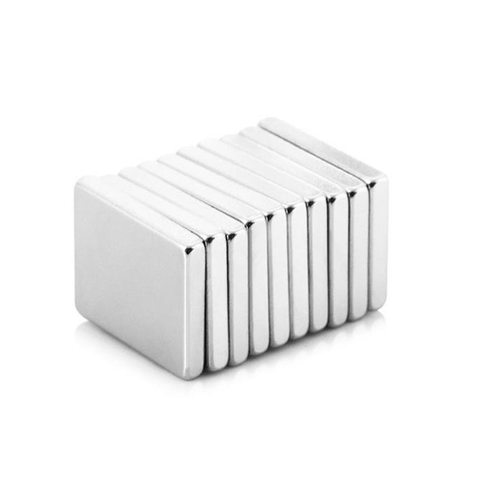 magnetic-toys 10Pcs 20 x 15 x 3mm N38 Powerful Creative NdFeB Cube Magnetic Toys for Kid Adult DIY HOB1162720