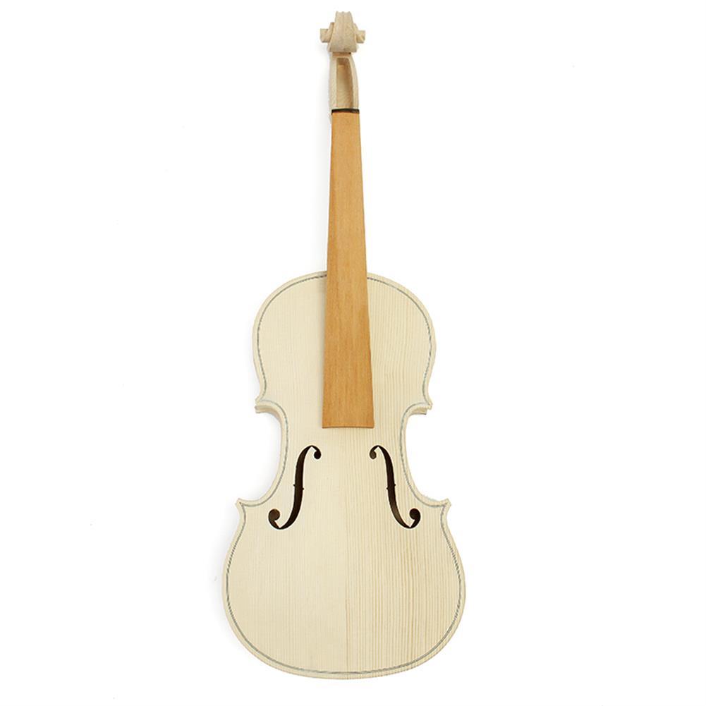 violin DIY Natural Solid Wood Violin Fiddle 4/4 Size Kit Spruce Top Maple Back Fiddle HOB1163468 1