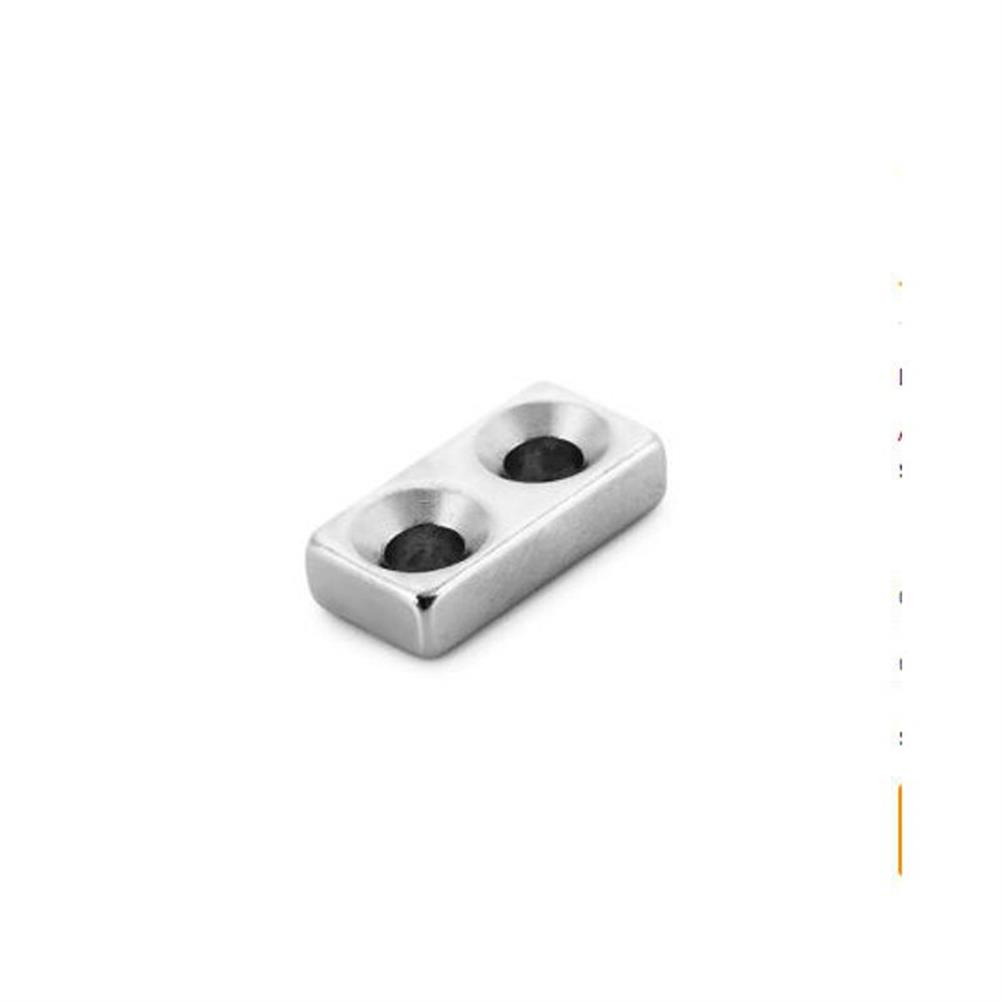 magnetic-toys 10Pcs20 x 10 x 5mm N38 Magnetic Toys Powerful Creative NdFeB Cube for Kid Adult DIY HOB1163519 1