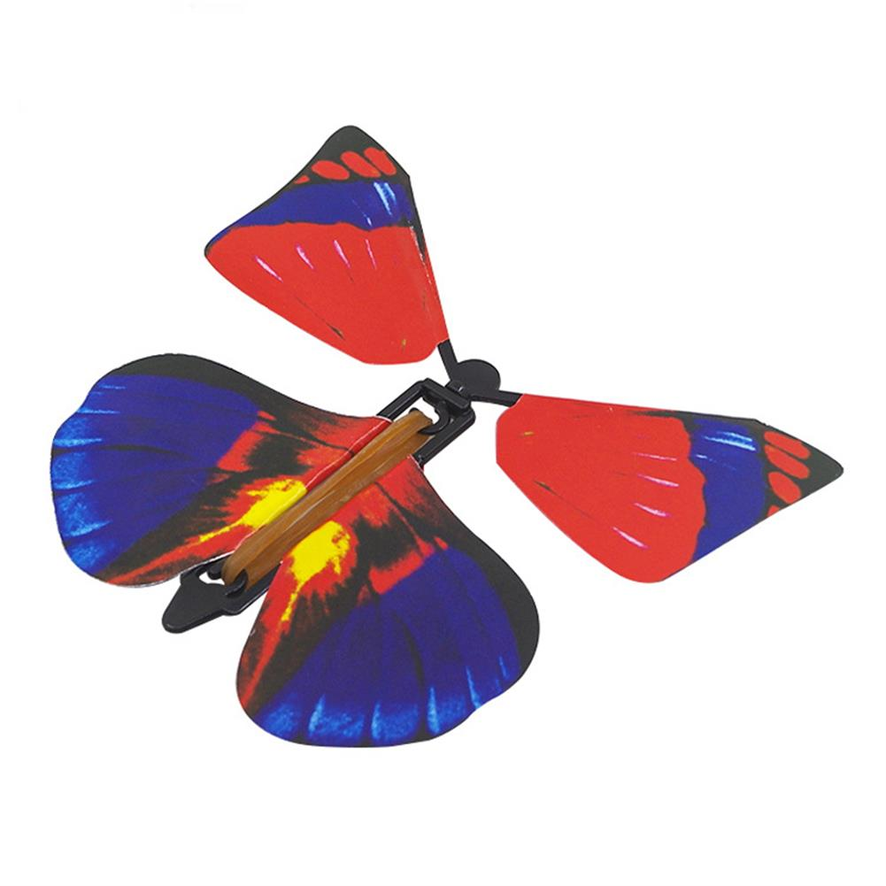 gags-practical-jokes 1PC Magic Props Flying Butterfly Hand Transformation Toys for Kids Christmas Tricky Funny Joke HOB1172810