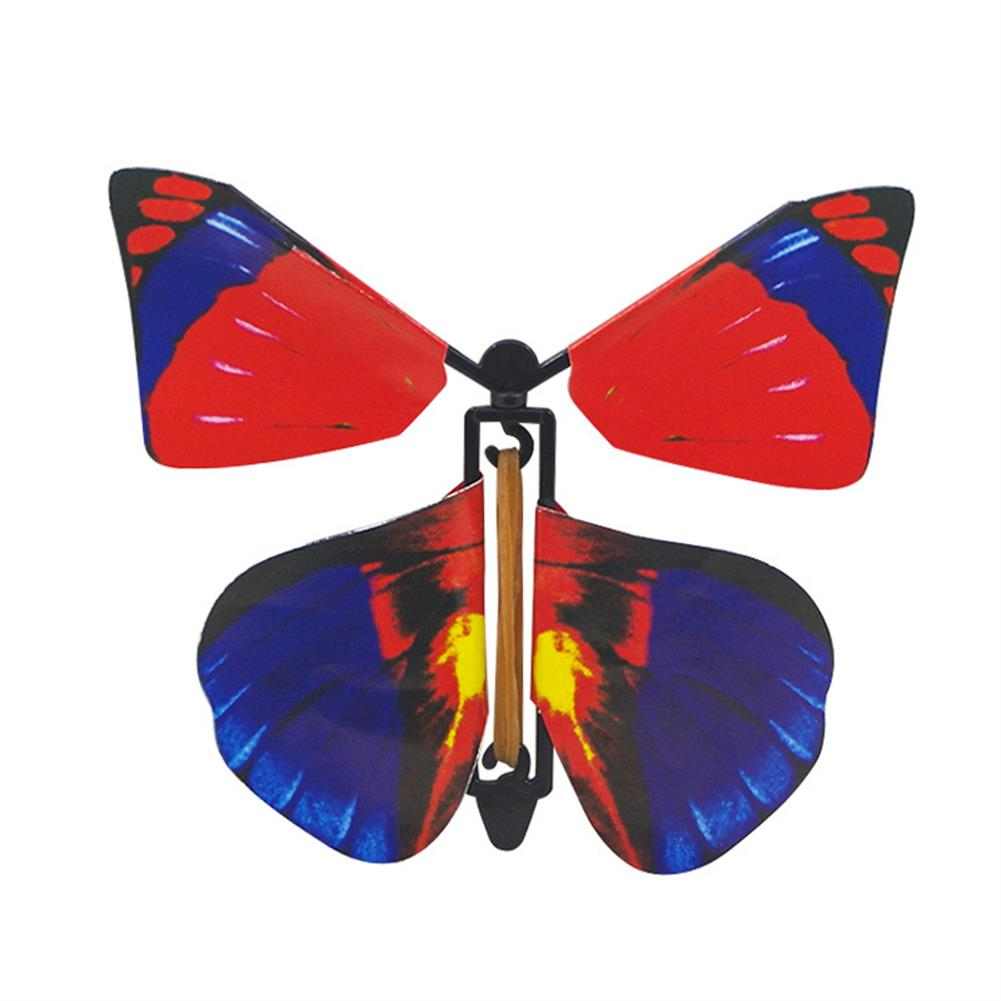 gags-practical-jokes 1PC Magic Props Flying Butterfly Hand Transformation Toys for Kids Christmas Tricky Funny Joke HOB1172810 1