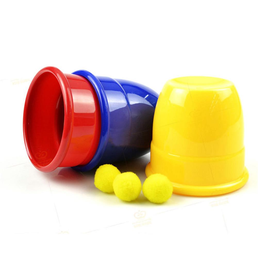 gags-practical-jokes Funny Trick Props 3 Magic Cups Toys for Kids Children Gift HOB1180366