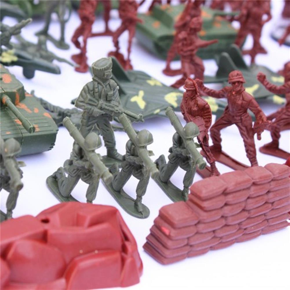 diecasts-model-toys 170 PCS Soldier Scene Model Set Toys for Kids Children Gift HOB1180994 2