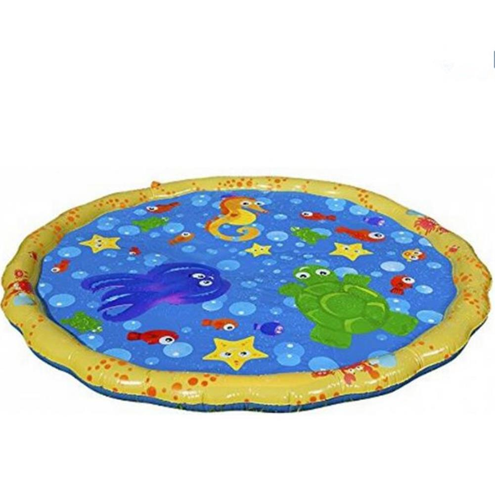 inflatable-toys Summer Children's Outdoor Play Water Games Beach Mat Lawn Sprinkler Cushion Toys HOB1181203