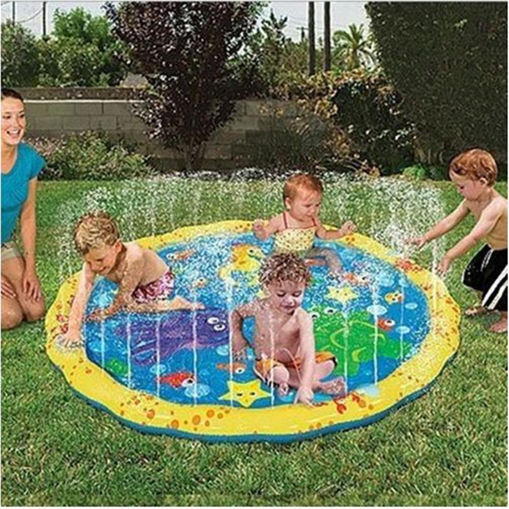 inflatable-toys Summer Children's Outdoor Play Water Games Beach Mat Lawn Sprinkler Cushion Toys HOB1181203 1