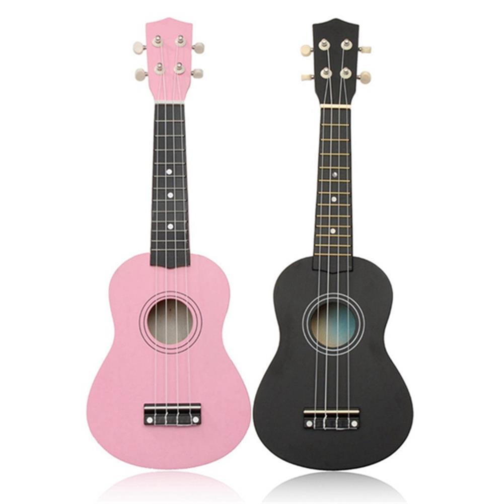 ukulele 21 inch Basswood Soprano Ukulele Hawaiian Guitar 12 Frets HOB1181332