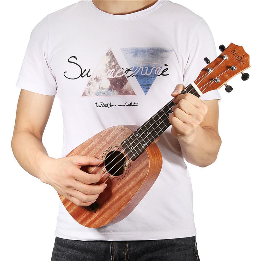 ukulele 21 inch Soprano Pinapple Mahogany Ukulele 4 Strings Hawaii Mini Guitar Children Gift HOB1183266 2