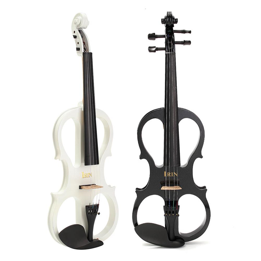 violin 4/4 Electric Violin with Headphone Gig Bag Bow Cable for Beginner HOB1185187 1