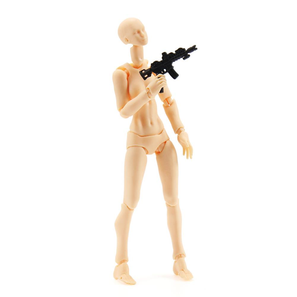 dolls-action-figure 1Pc/Set Figma 2.0 14cm Girl PVC Version Skin Color Action Figures Toys Model Painting Props Gifts HOB1190042 1