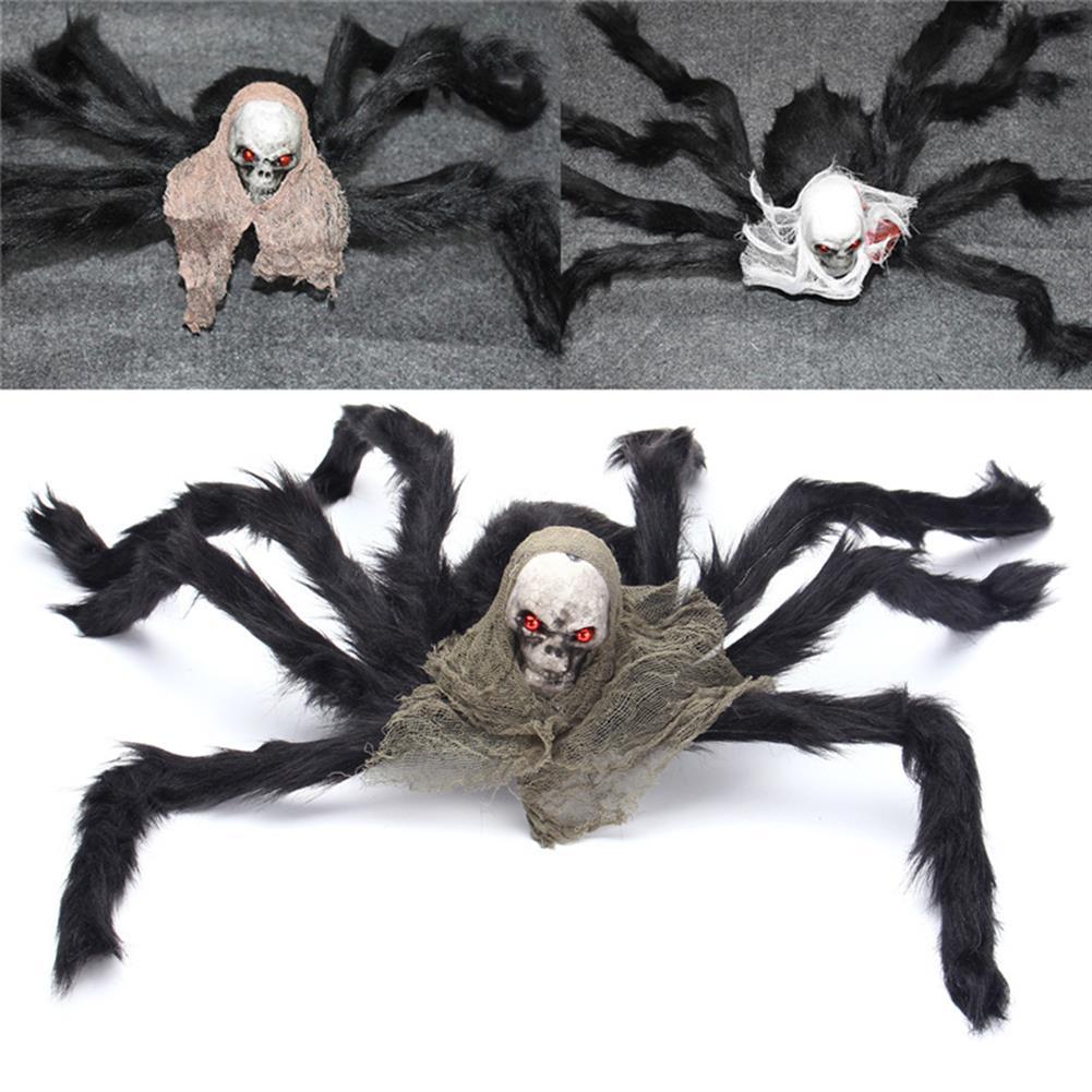 decoration Halloween Party Decoration Skeleton Ghosthead Spider Horrid Scare Scene Toys HOB1190321