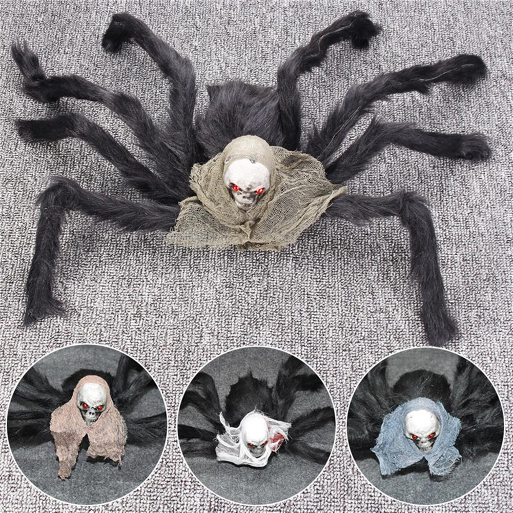 decoration Halloween Party Decoration Skeleton Ghosthead Spider Horrid Scare Scene Toys HOB1190321 1
