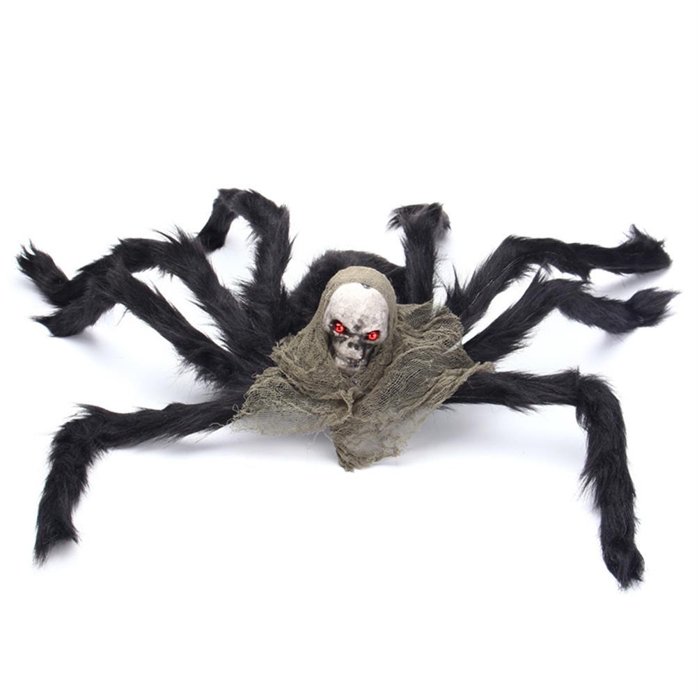 decoration Halloween Party Decoration Skeleton Ghosthead Spider Horrid Scare Scene Toys HOB1190321 2