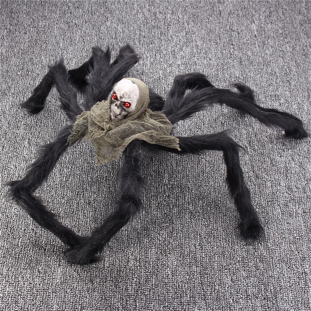 decoration Halloween Party Decoration Skeleton Ghosthead Spider Horrid Scare Scene Toys HOB1190321 3
