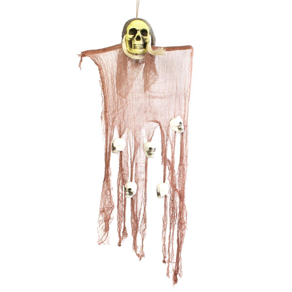 decoration Halloween Party House Decoration Hanging Skeleton Ghosts Horrid Scare Scene Toys Props HOB1190823