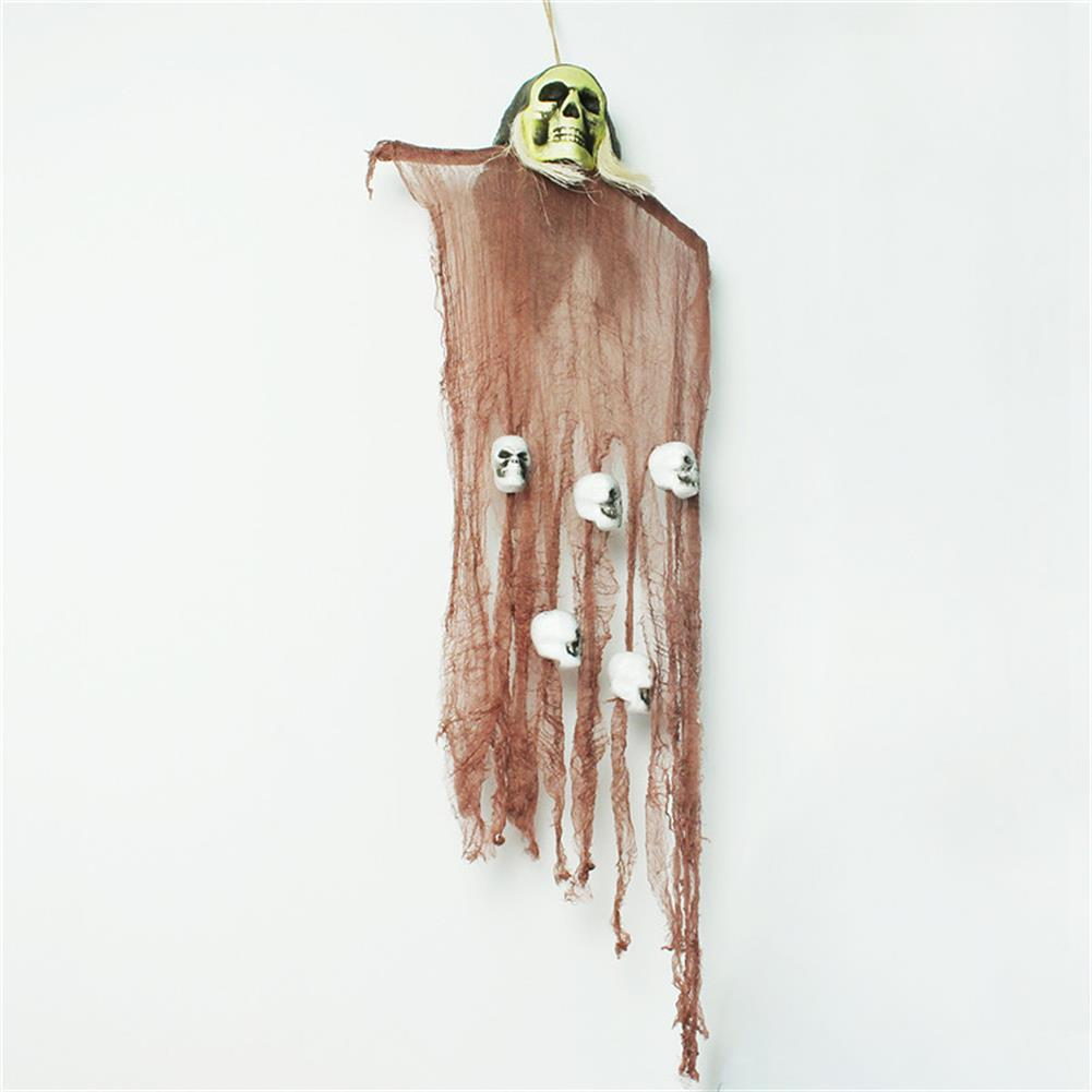 decoration Halloween Party House Decoration Hanging Skeleton Ghosts Horrid Scare Scene Toys Props HOB1190823 1