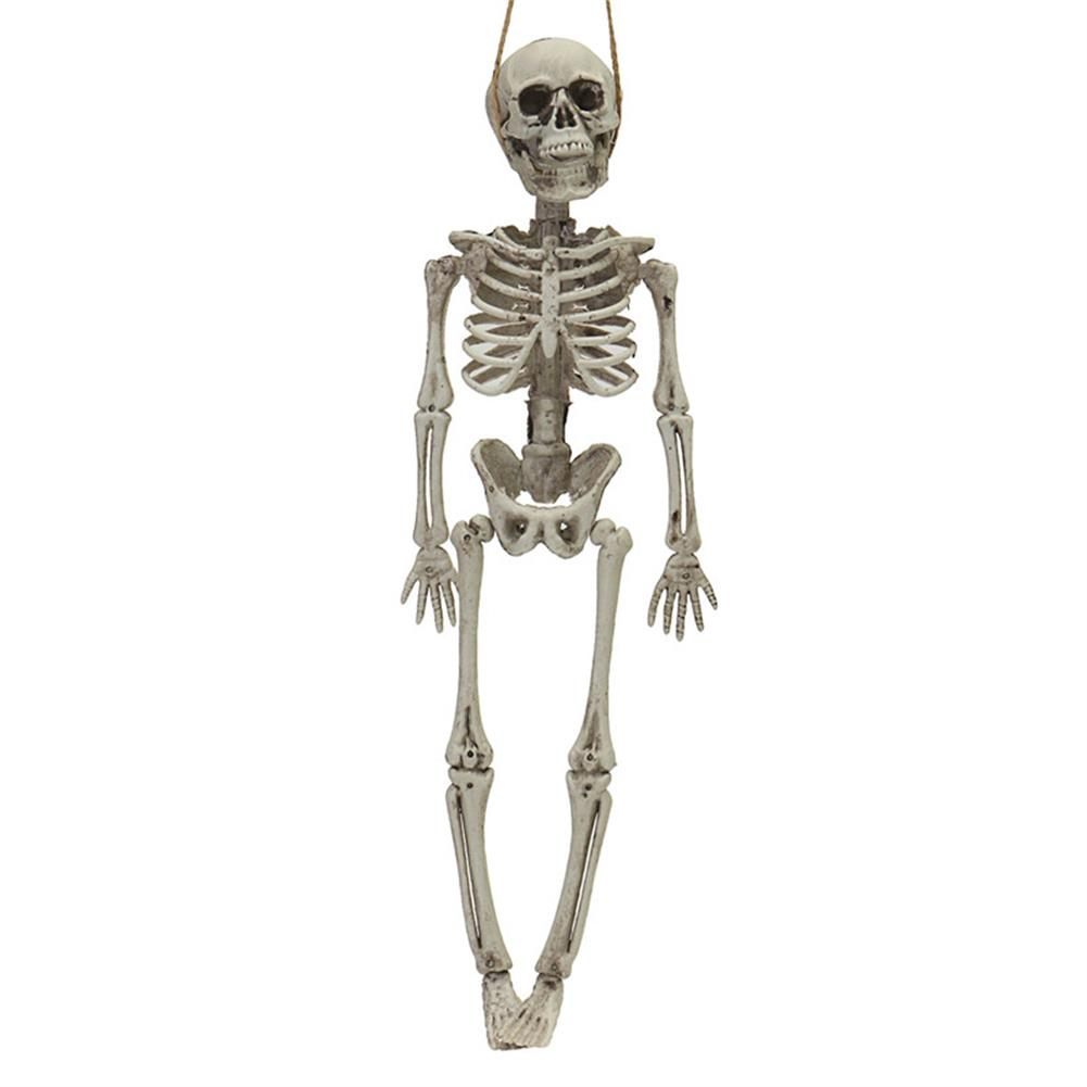 decoration Halloween Party Home Decoration Skeleton Horrid Scare Scene Simulation Human Body Toys Props HOB1195131