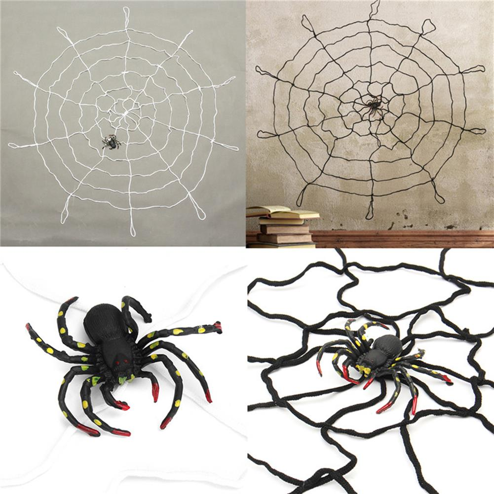 decoration Halloween Party Home Decoration Large Spider Web Honor Props Toys for Kids Children Gift HOB1199911