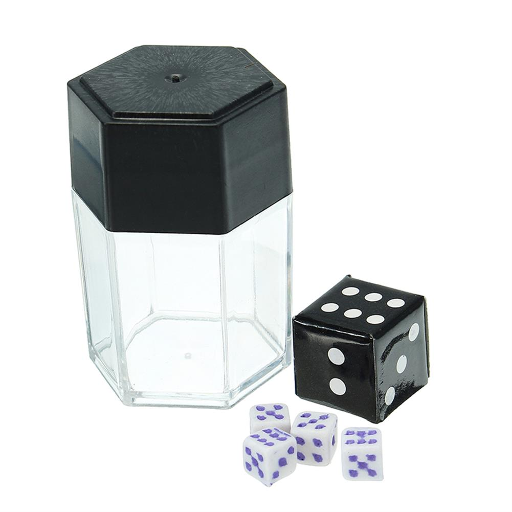 gags-practical-jokes Trick Toys Big Explode Explosion Dice Close Up Magic Prank Toy Children Gift Small Size 1Change 4 HOB1200898
