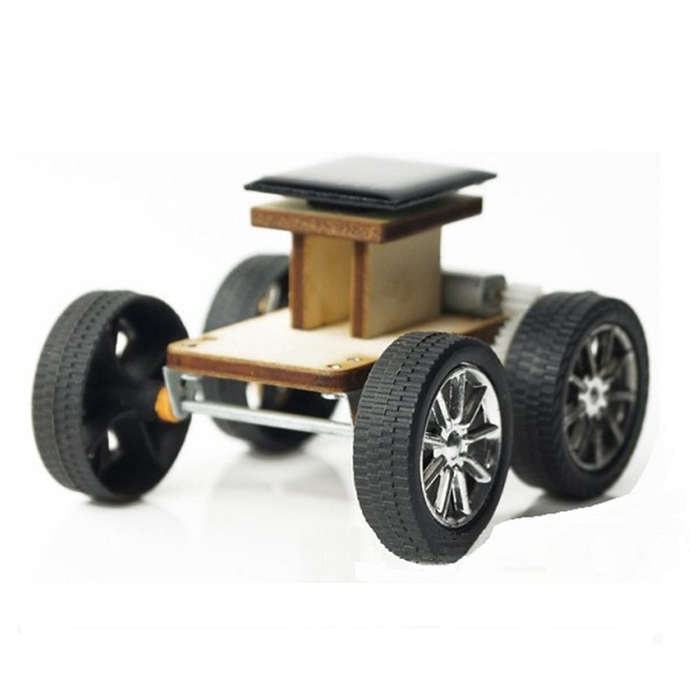 solar-powered-toys DIY Solar Wooden Car Toy Educational Assembly Model for Children HOB1203847 1