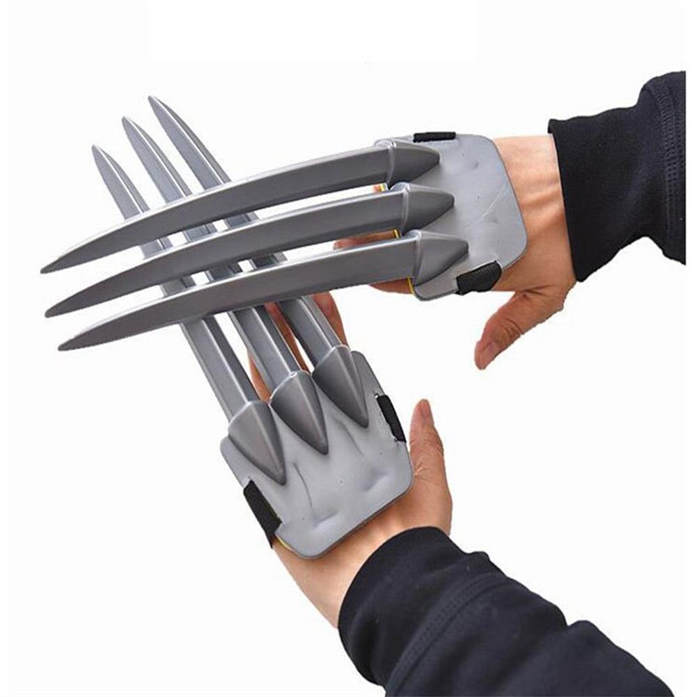 mask-costumes 1Piece Halloween Cosplay Wolverine Claws Plastic Toys Festival Decoration HOB1204243