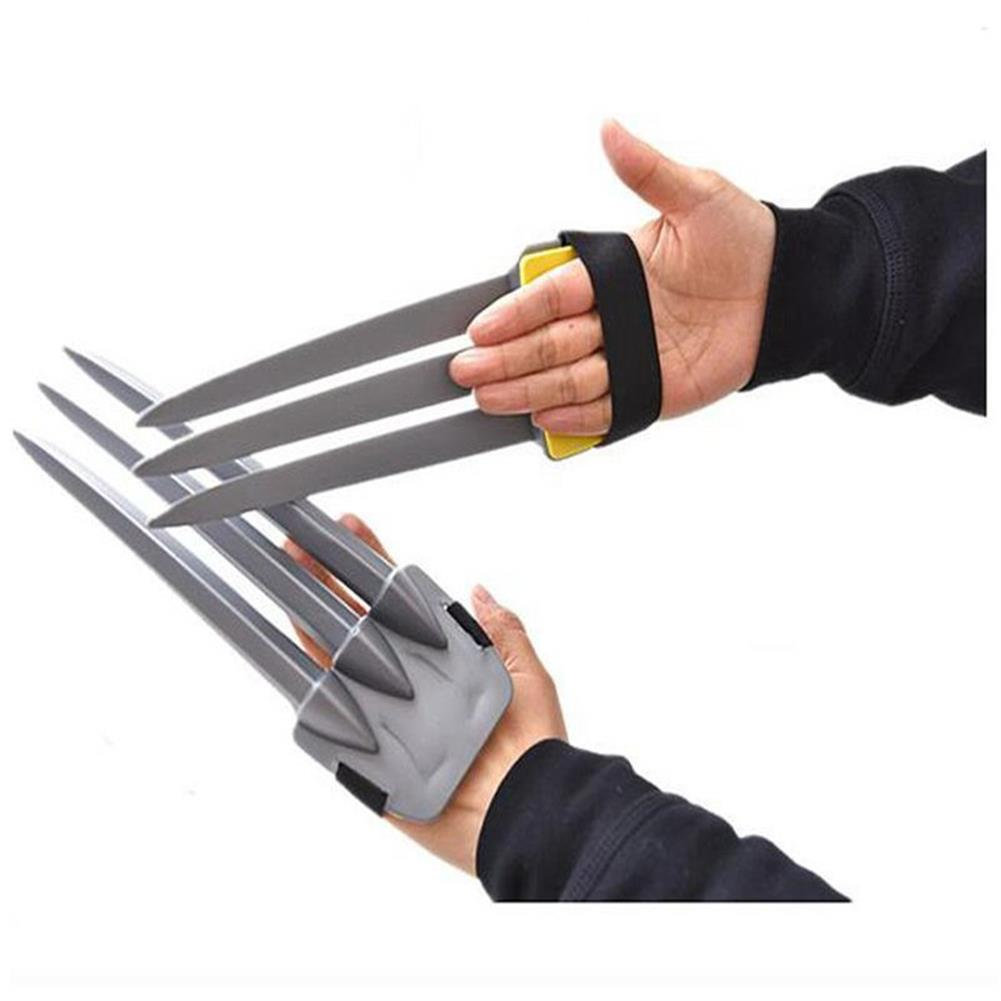 mask-costumes 1Piece Halloween Cosplay Wolverine Claws Plastic Toys Festival Decoration HOB1204243 1