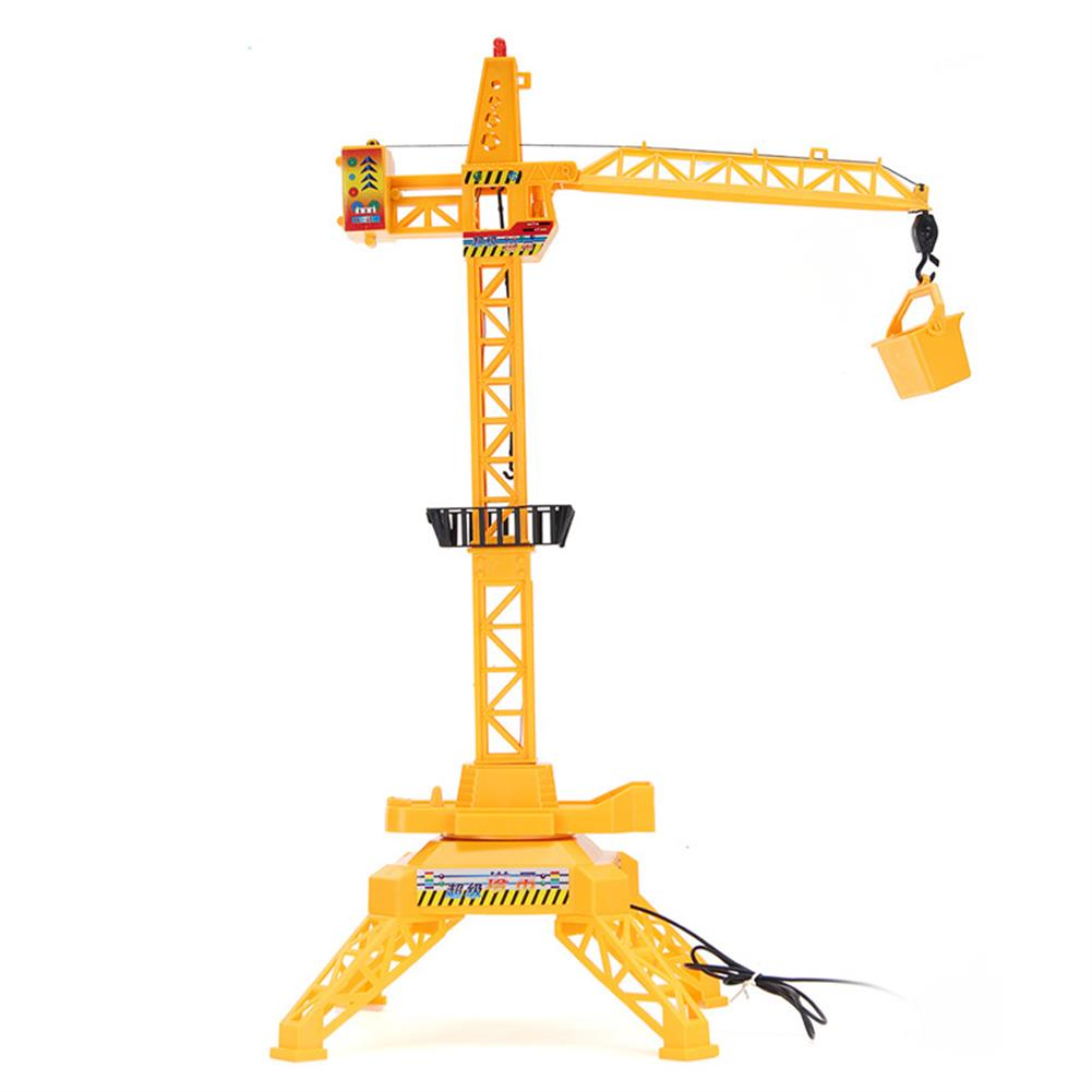 puzzle-game-toys 1/64 Remote Control Crane Hobby Kid Lift Construction Gift Toy with Accessories HOB1210375