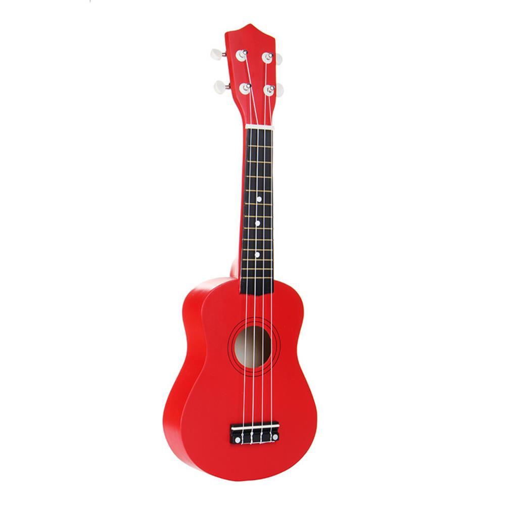 ukulele 21 inch Basswood Soprano Ukulele with Gig Bag Tuner Red HOB1211627 1