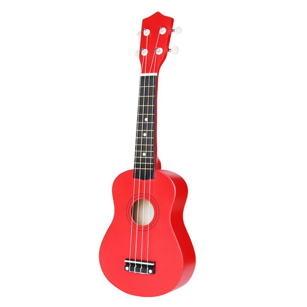 ukulele 21 inch Basswood Soprano Ukulele with Gig Bag Tuner Red HOB1211627 3