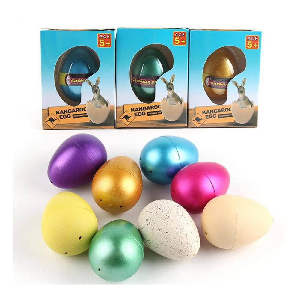 novelties 1Pc Large Funny Magic Growing Hatching Eggs Christmas Child Novelties Toys Gifts HOB1212135