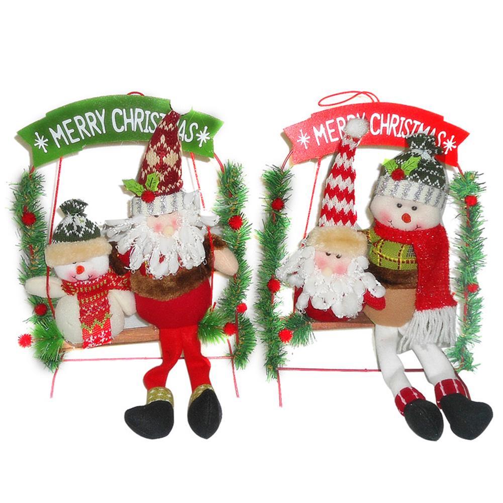 decoration Christmas Party Home Decoration Santa Claus Skiman Ladder Toys for Kids Children Gift HOB1213464