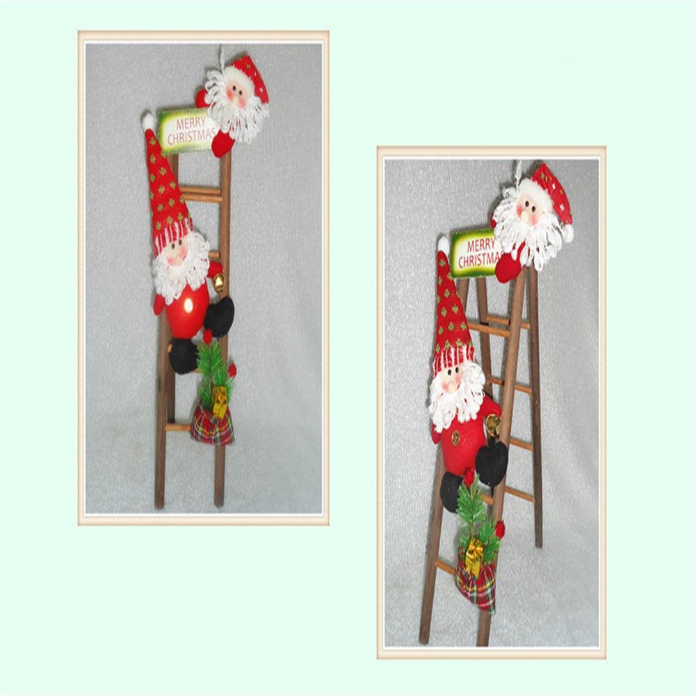 decoration Christmas Party Home Decoration Santa Claus Skiman Ladder Toys for Kids Children Gift HOB1213464 2