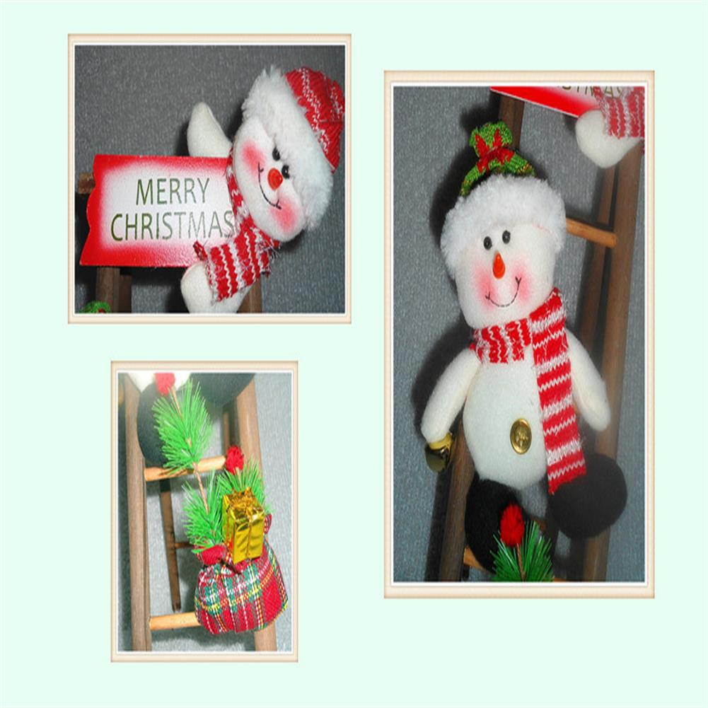 decoration Christmas Party Home Decoration Santa Claus Skiman Ladder Toys for Kids Children Gift HOB1213464 3