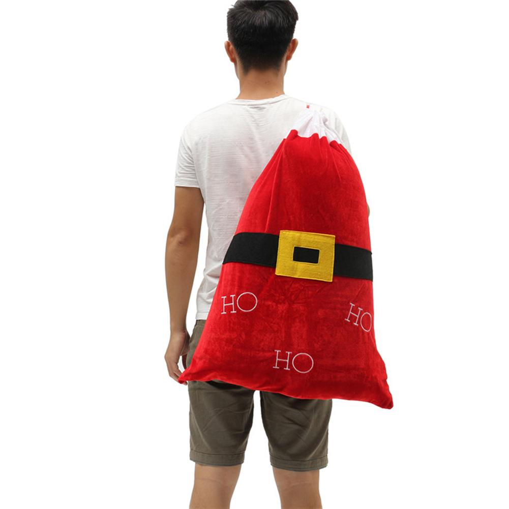 decoration Christmas Party Home Decoration Santa Claus Backpack Toys for Kids Children Ornament Gift HOB1214090