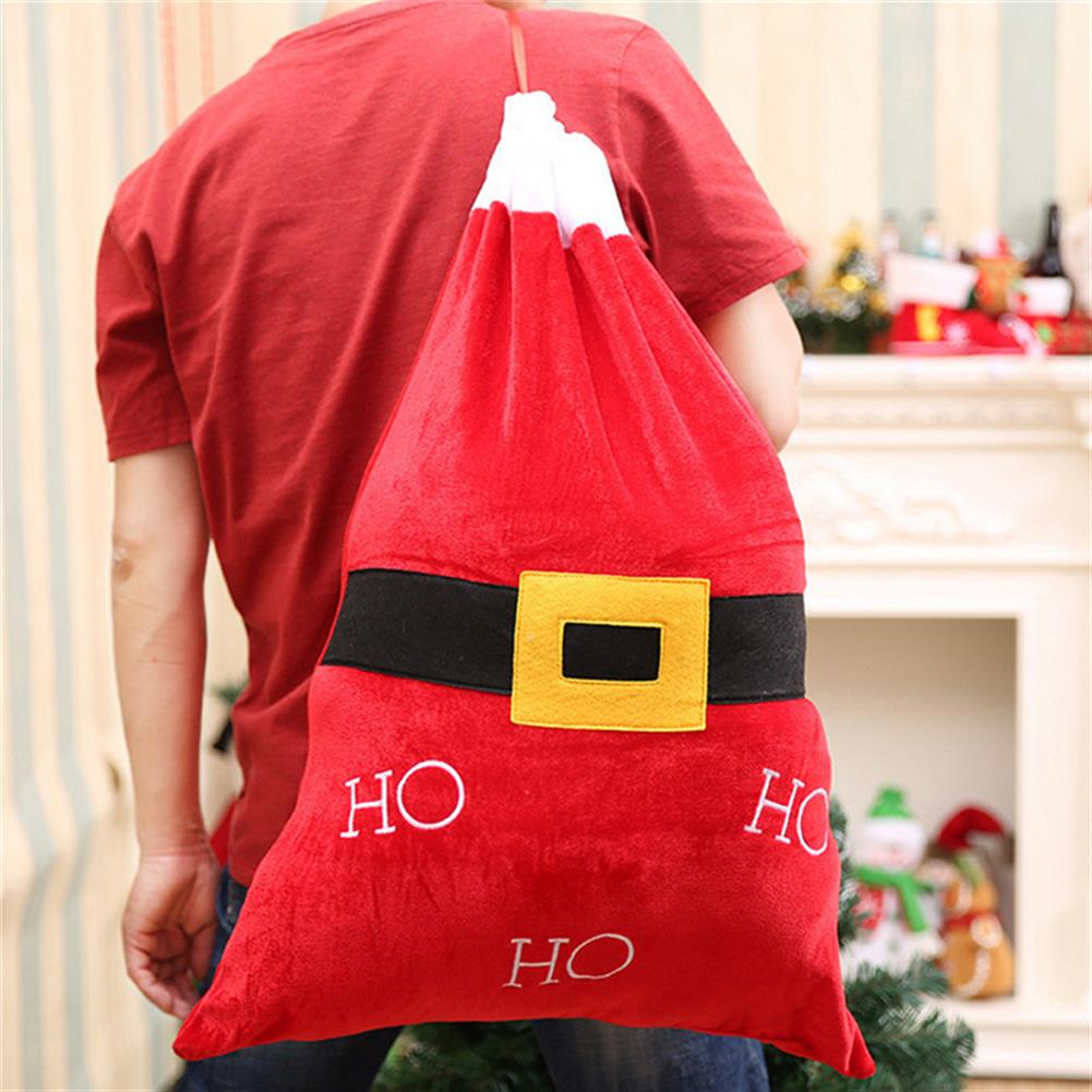 decoration Christmas Party Home Decoration Santa Claus Backpack Toys for Kids Children Ornament Gift HOB1214090 1