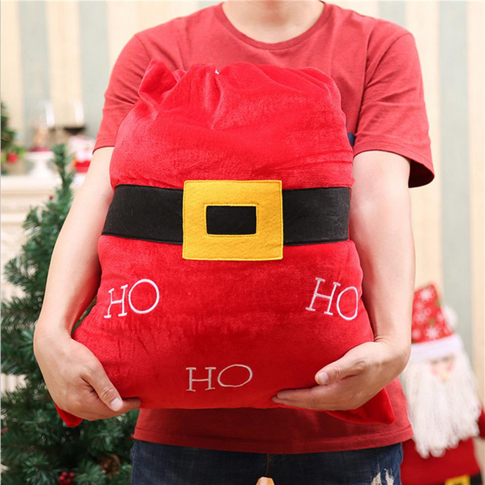 decoration Christmas Party Home Decoration Santa Claus Backpack Toys for Kids Children Ornament Gift HOB1214090 2