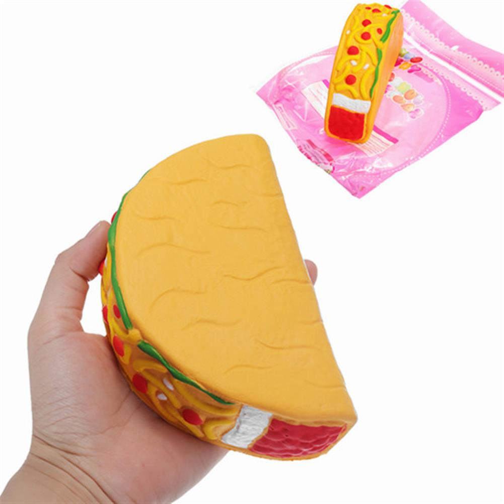 squishy-toys 14.5cm Squishy Taco Slow Rising Soft Collection Gift Decor Toys HOB1214854