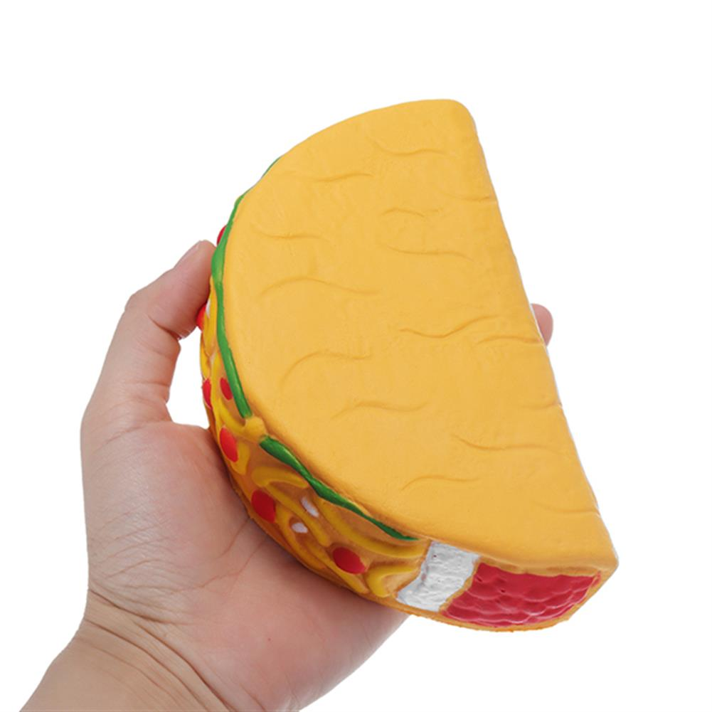 squishy-toys 14.5cm Squishy Taco Slow Rising Soft Collection Gift Decor Toys HOB1214854 1