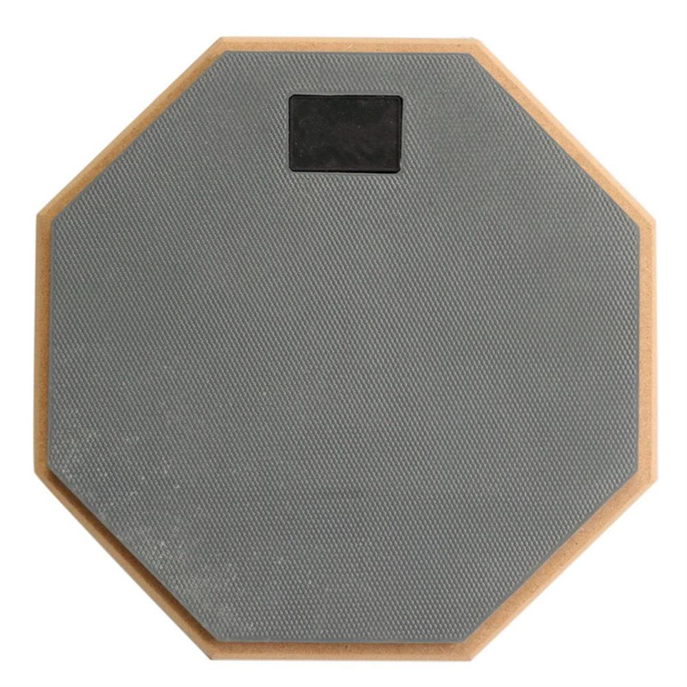 drum-sets 8 inch Rubber Wooden Beginner Drum Practice Silencer Pads Quiet Practice Dumpad HOB1218518