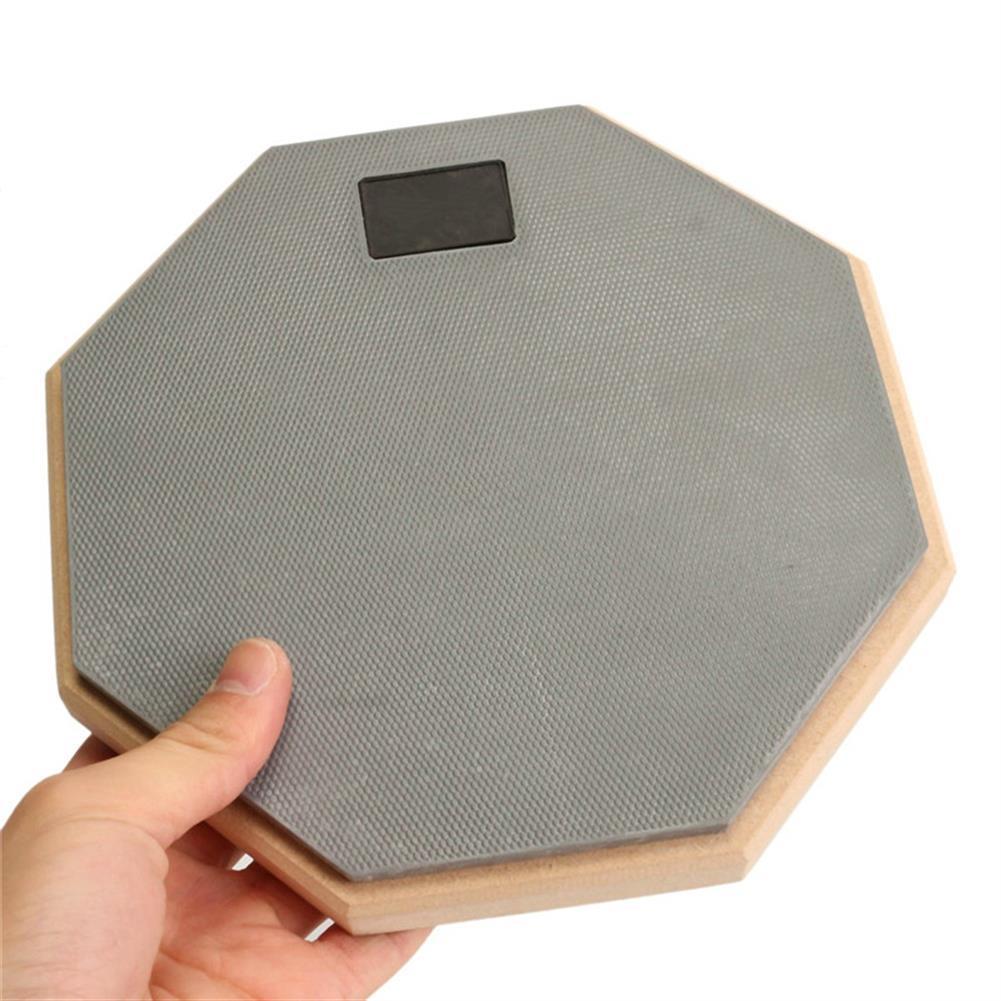 drum-sets 8 inch Rubber Wooden Beginner Drum Practice Silencer Pads Quiet Practice Dumpad HOB1218518 2