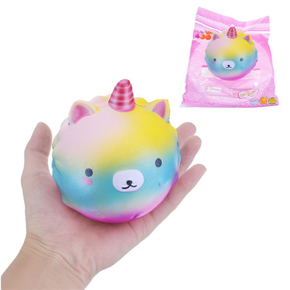 squishy-toys 10cm Squishy Galaxy Unicorn Slow Rising with Packaging Collection Gift Soft Toy HOB1222943