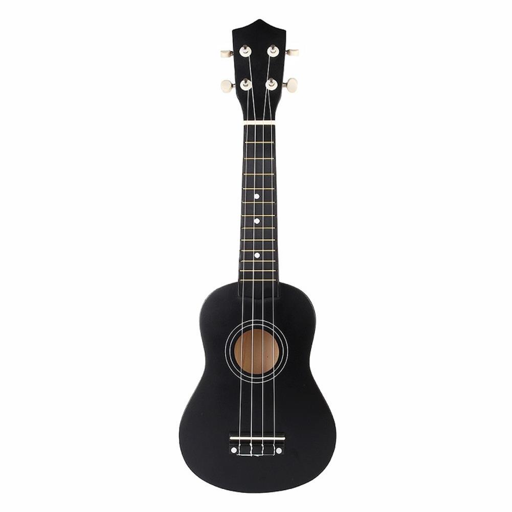 ukulele 21 inch Economic Soprano Ukulele Uke Musical instrument with Gig bag Strings Tuner Black HOB1225063 1