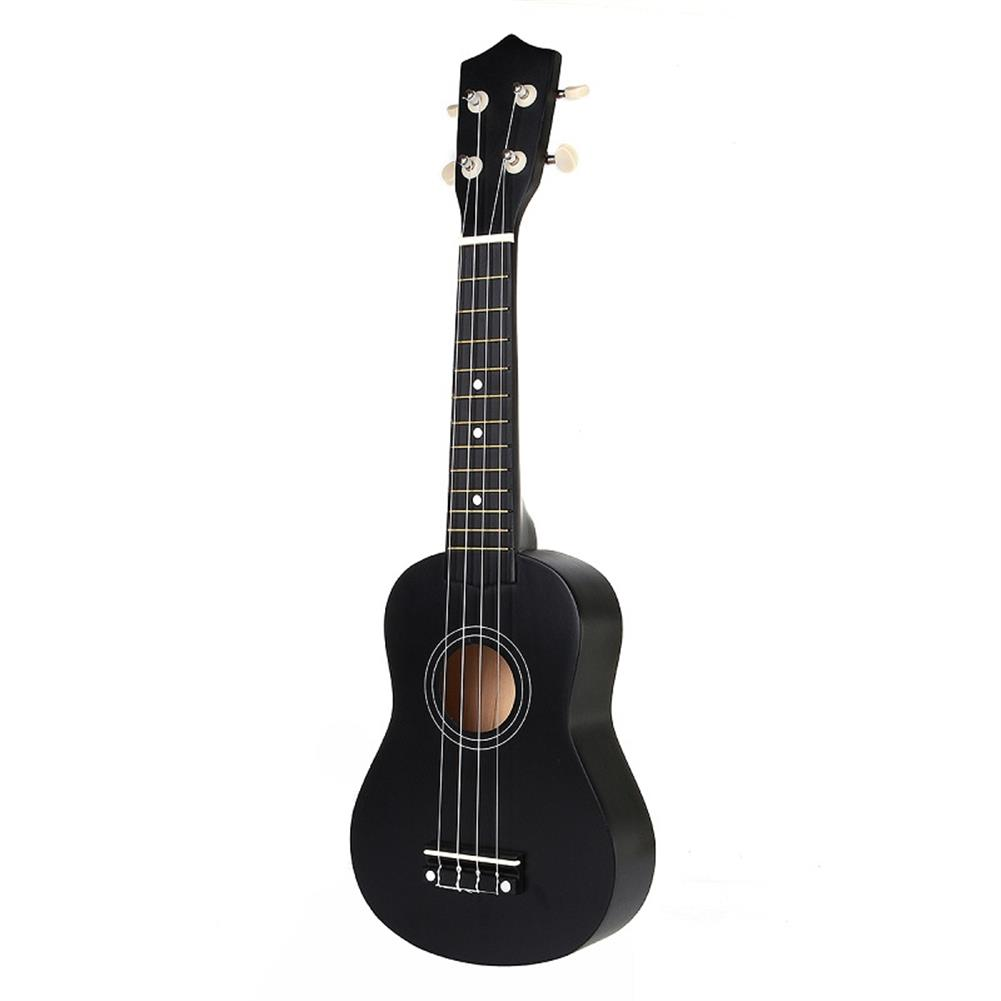 ukulele 21 inch Economic Soprano Ukulele Uke Musical instrument with Gig bag Strings Tuner Black HOB1225063 2